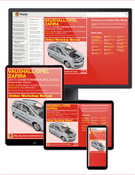 vauxhall opel zafira petrol and diesel 05 09 05 to 09 haynes