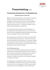 Bad Oeynhausen Essen 20 Free Magazines From Variete De