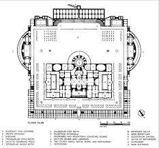 baths of caracalla floor plan baths of caracalla reconstructed floor plan architecture design