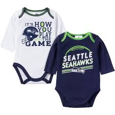 seattle seahawks baby clothing and infant apparel babyfans