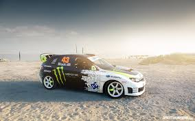 Ken Block U0027s Subaru Impreza Hd Wallpaper Wallpapers Pinterest