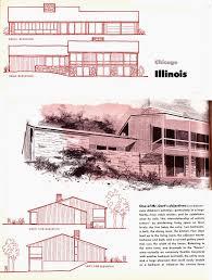 Split Master Bedroom Retro Rockets Parade Of 1956 Home Plans 5 Wheaton Il