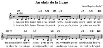 Light One Candle Lyrics Au Clair De La Lune Wikipedia