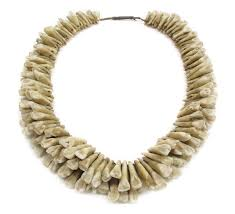 tooth necklace images Bowers museum human tooth necklace polynesia bowers audio jpg
