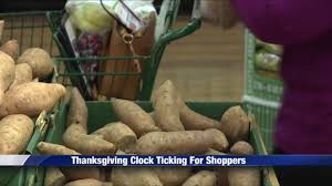 convenience stores prepare for last minute thanksgiving shoppers