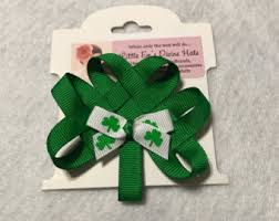 shamrock ribbon shamrock ribbon etsy