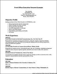 Front Desk Cv Free Resume Layout Templates 6th Grade Essay Contest Best Personal