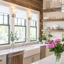 Shelf Above Kitchen Sink by Farmhouse Kitchens With Fixer Upper Style Farmhouse Kitchens