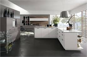 cuisine ouverte moderne magnifique idees cuisine ouverte moderne design chemin e de angle