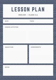 lesson plan template swimming lesson plan template free lesson plan templates lesson plan