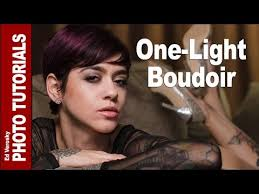 boudoir photography lighting tutorial one light boudoir photography shoot youtube