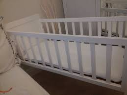 white crib bassinet moses basket for baby including mattress