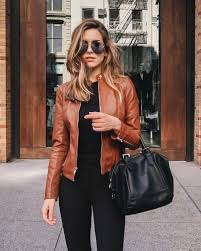 light brown leather jacket womens vanilla extract the life and style of nichole ciotti products i