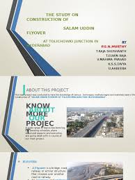 flyover ppt for final year project jntuk lane traffic