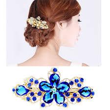 rhinestone hair graceful flower rhinestone hair clip the veteran market