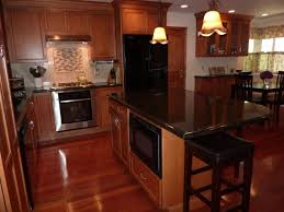 Kitchen Design Cherry Cabinets by Kitchen Room 2017 Cherry Cabinets With Black Granite Countertops