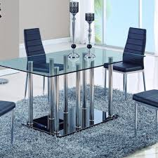 Modern Black Dining Room Sets by Formal Dining Room Furniture Adams Furniture