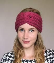 knit headband headband knit patterns cottageartcreations