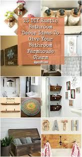bathroom decor ideas pictures 25 diy rustic bathroom décor ideas to give your bathroom farmhouse