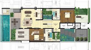 villa floor plans saisawan villas ground floor plan blogkaku home plans villa