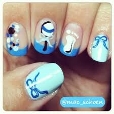 Baby Nail Art Design 26 Best Baby Shower Nails Images On Pinterest Baby Shower Nails