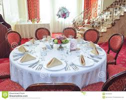 wedding table setting table set for an event party or wedding