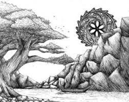 pen u0026 ink drawings u0026 illustrations etsy uk