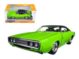 1970 dodge charger green diecast model cars wholesale toys dropshipper drop shipping 1970
