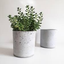 large concrete planter concrete jars concrete planter made by fume products