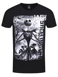 nightmare before skellington s black t shirt buy