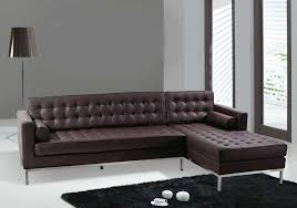 Ashley Furniture Leather Sectional With Chaise Furniture Best Design Of Brown Leather Sectional For Modern
