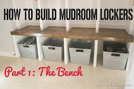 mudroom lockers part 1 u2013 bench infarrantly creative