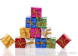 mini gifts boxes tree ornaments 2 5cm