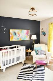 Baby Nursery Fabric Baby Nursery Accent Wall Decorations For Baby Room With Murals