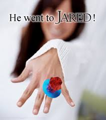 He Went To Jared Meme - kay and jared jewelry only promote women if they sleep with their