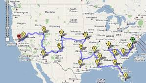 map your usa road trip three ways to improve your american road trip travel podcast