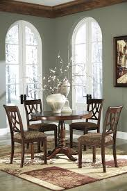 Ashley Furniture Kitchen Table Set by Buy Ashley Furniture Leahlyn Round Dining Room Table Set