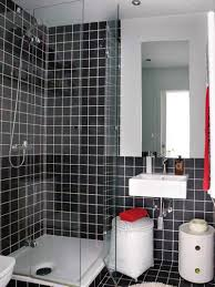 finished bathroom ideas black and white bathroom ideas chess schemed ceramic flooring