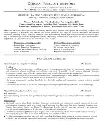 sample company resume with management consulting expertise and