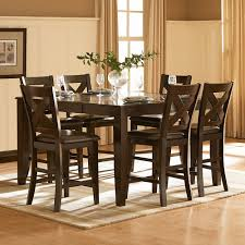 amazon com homelegance crown point 7 piece counter height dining