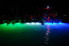 underwater boat light dg ds underwater dock lighting green