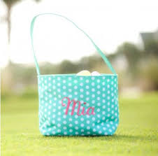 personalized easter basket personalized easter basket with children s embroidered name or