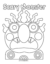 go away green go away big green monster coloring page coloring pages