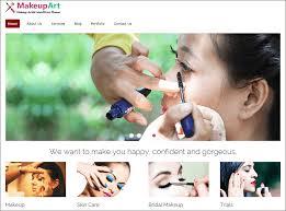 website for makeup artist makeup artist themes templates free premium makeup
