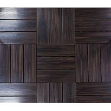 Teak Tiles Mosaic Wood Tiles Traditional Bedroom by Deck Tiles Builddirect