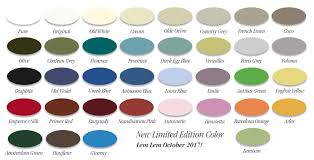 colors brushstrokes by mary anne chalk paint milk paint