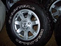nissan titan lug pattern for sale nissan titan wheels with goodyear mt r tires 4 nissan