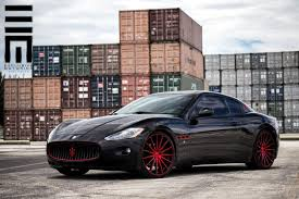 maserati custom vossen wheels maserati gran turismo vossen flow formed series