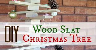 pneumatic addict diy wood slat tree