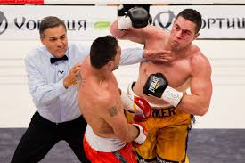 solar plexus punch boxing vs nascimento